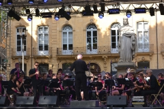 The stage at Aix-en-Provence