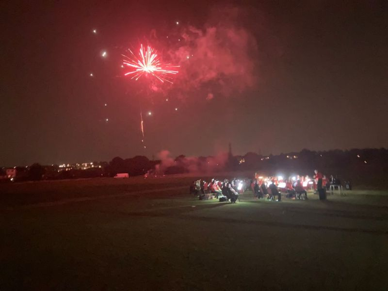 Fireworks over the 1812